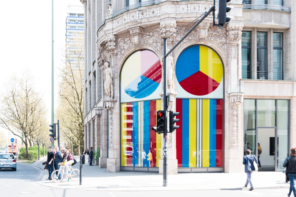 Daniel Buren at Thomas Schulte