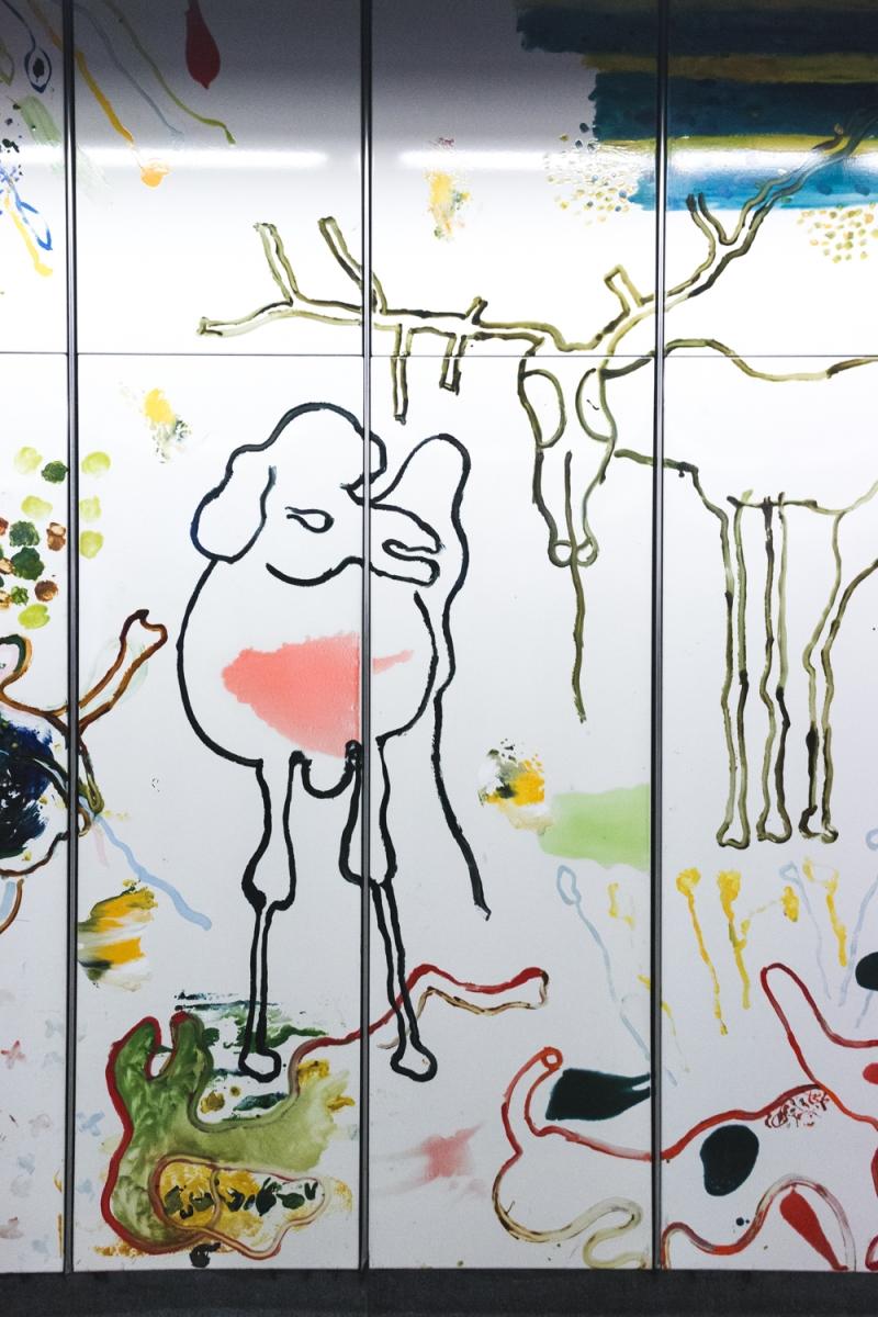 Oswald Oberhuber , public art in vienna
