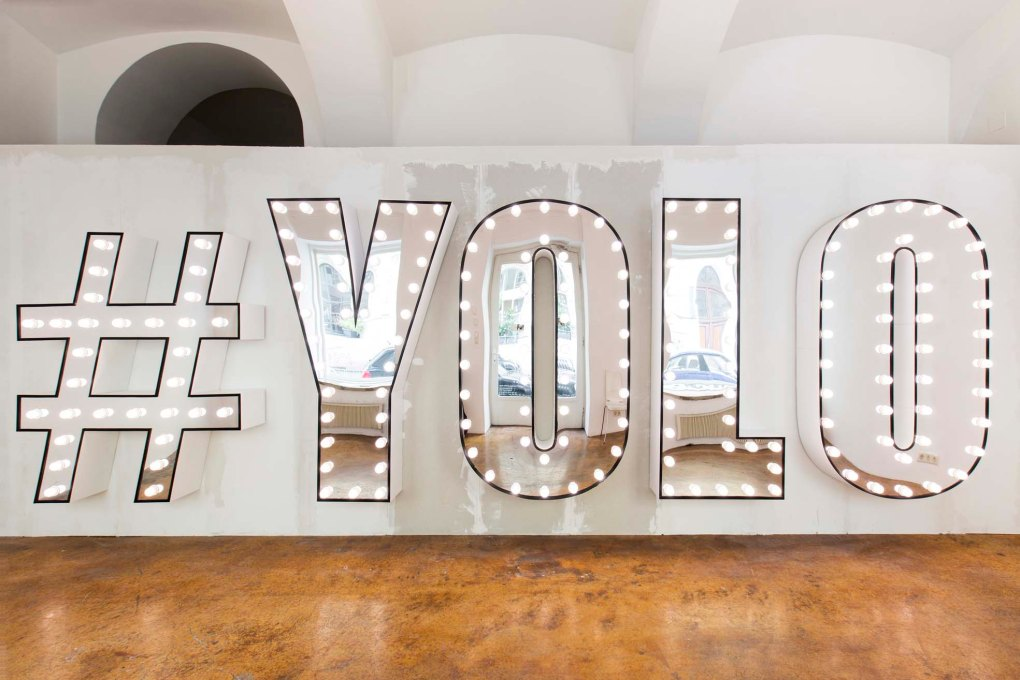 Lukas Troberg, YOLO, 2015, courtesy of the artist