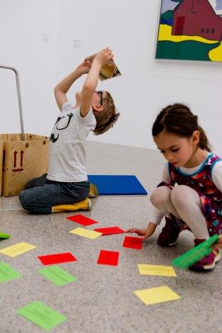 Kinderaktionstag at mumok, (c) mumok / Katherina Lochmann