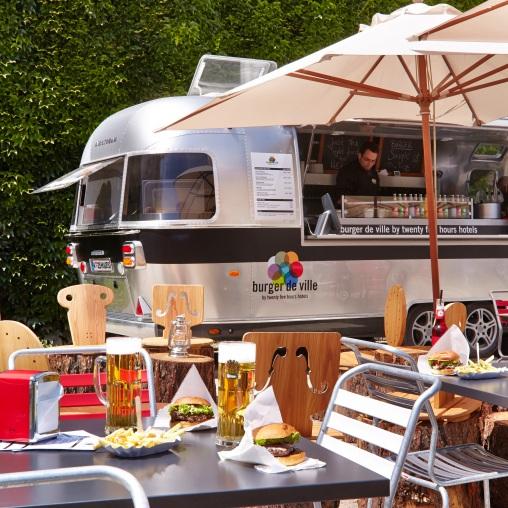 Burger de Ville, (c) Stephan Lemke / 25hours Hotels
