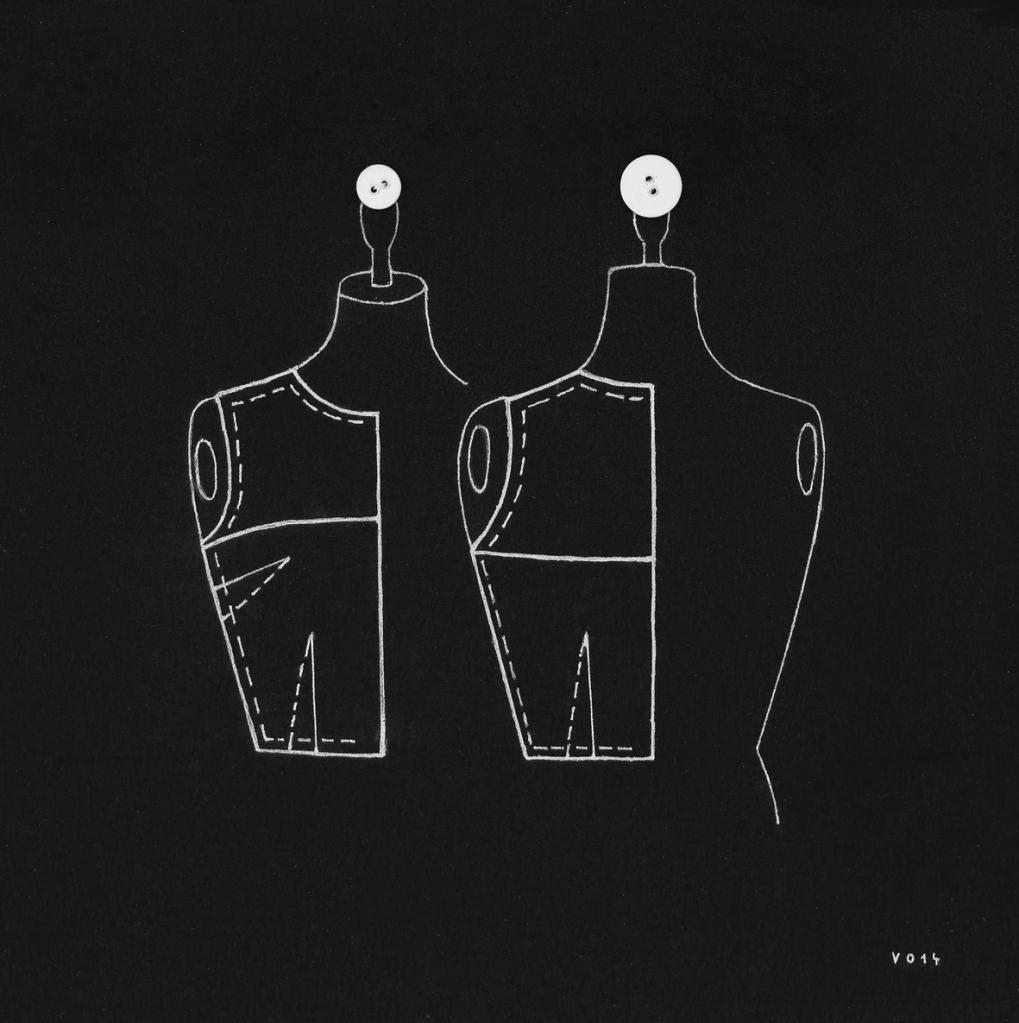 Ottó Vincze, Entre Nous, 2014 , Mixed Media , 30 x 30 cm , courtesy of Ani Molnár Gallery , Ani Molnár Gallery