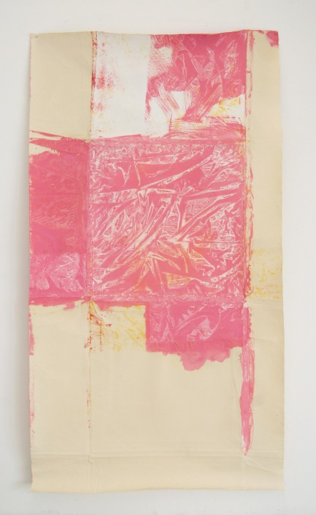 Dino Zrnec, Untitled, 2013, primer and oil on canvas, courtesy of Apteka – space for contemporary art
