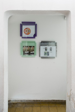 Manfred Pernice at Lulu Mexico City, 2016, Installation view (Cassettes), Courtesy Lulu, Mexico City