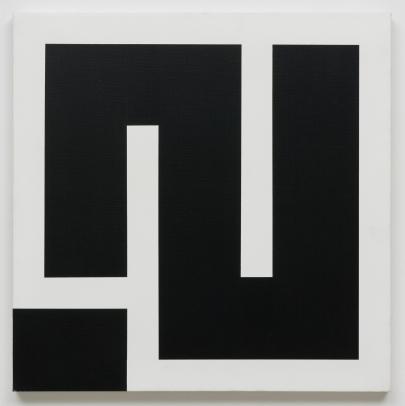Julije Knifer, Sans titre (AP XI_2), 2002, (c) the artist, courtesy of Galerija Gregor Podnar and Julije Knifer Estate