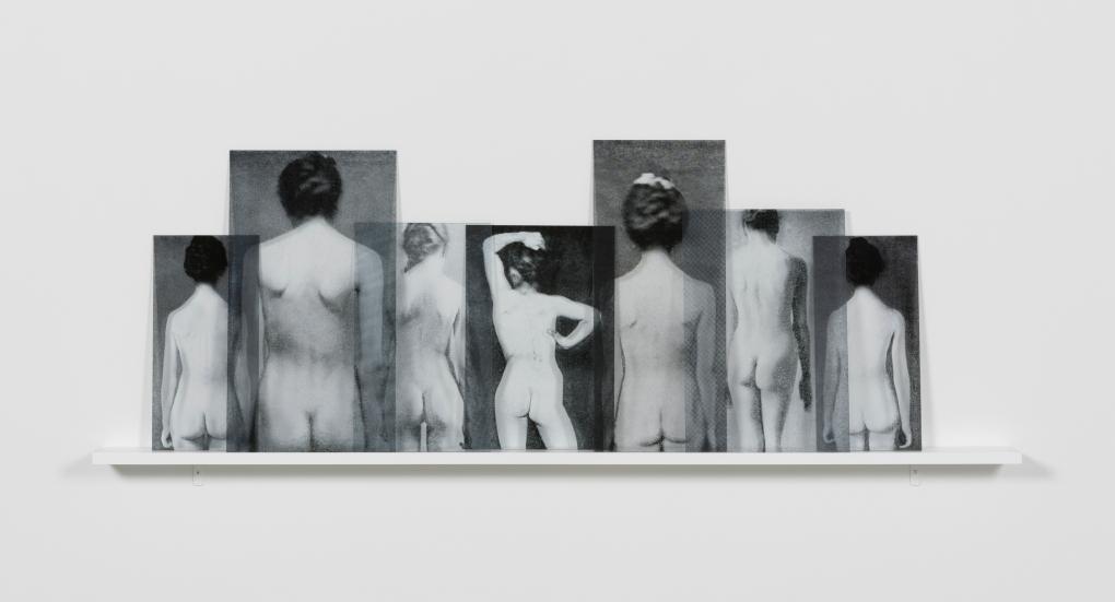 Milja Laurila, Sisters, 2016, 7 uV-prints on acrylic glass, 73 x 64 x 12 cm / Edition of 5 + 2 ap