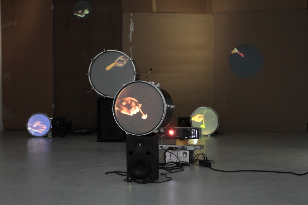 Bassdrummparty Ultra, installation view at MUHKA, (c) Albert Mayr