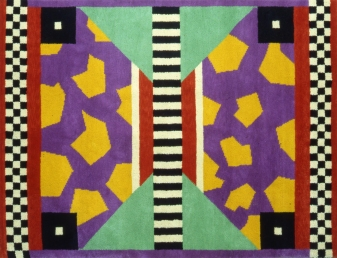 Nathalie Du Pasquier, Arizona (Teppich Memphis Milano Collection), 1983, Courtesy Memphis, Milano, Foto: Studio Azzurro