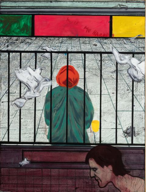 Daniel Richter Sound of the Surburbs, 2013 Oil on canvas, 122 cm x 91 cm
