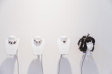 ZONE1 solo presentation of Leo Peschta, Galerie Lisi Hämmerle, photo: viennacontemporary / A. Murashkin
