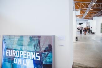 Pawel Kovalewsky, Europeans Only, 2007, Propaganda Gallery, photo: viennacontemporary / A. Murashkin