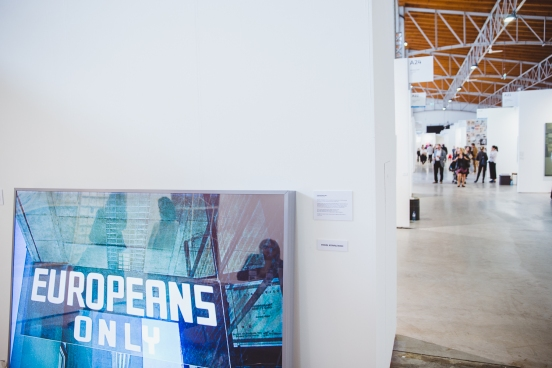 Pawel Kovalewsky, Europeans Only, 2007, Propaganda Gallery, photo: viennacontemporary / A. Murashkin