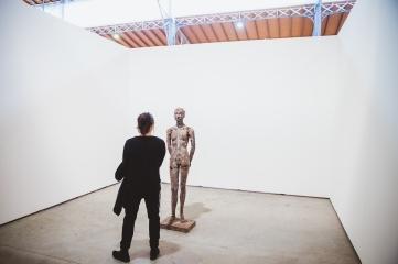 Heimo Zobernig, Untitled, 2016, Galerie Mayer Kainer, photo: viennacontemporary / A. Murashkin