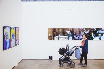 Chen I-Chun, Liang Gallery, photo: viennacontemporary / A. Murashkin