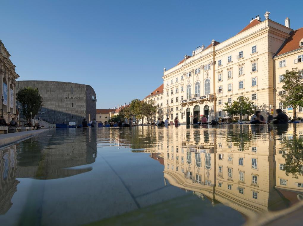 MuseumsQuartier, Vienna, © WienTourismus / Christian Stemper