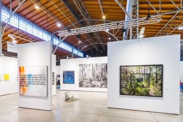 Georg Kargl Fine Art's booth,photo: viennacontemporary / A. Murashkin