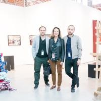 Gallerists at viennacontemporary 2016