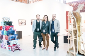Gallerists at viennacontemporary 2016