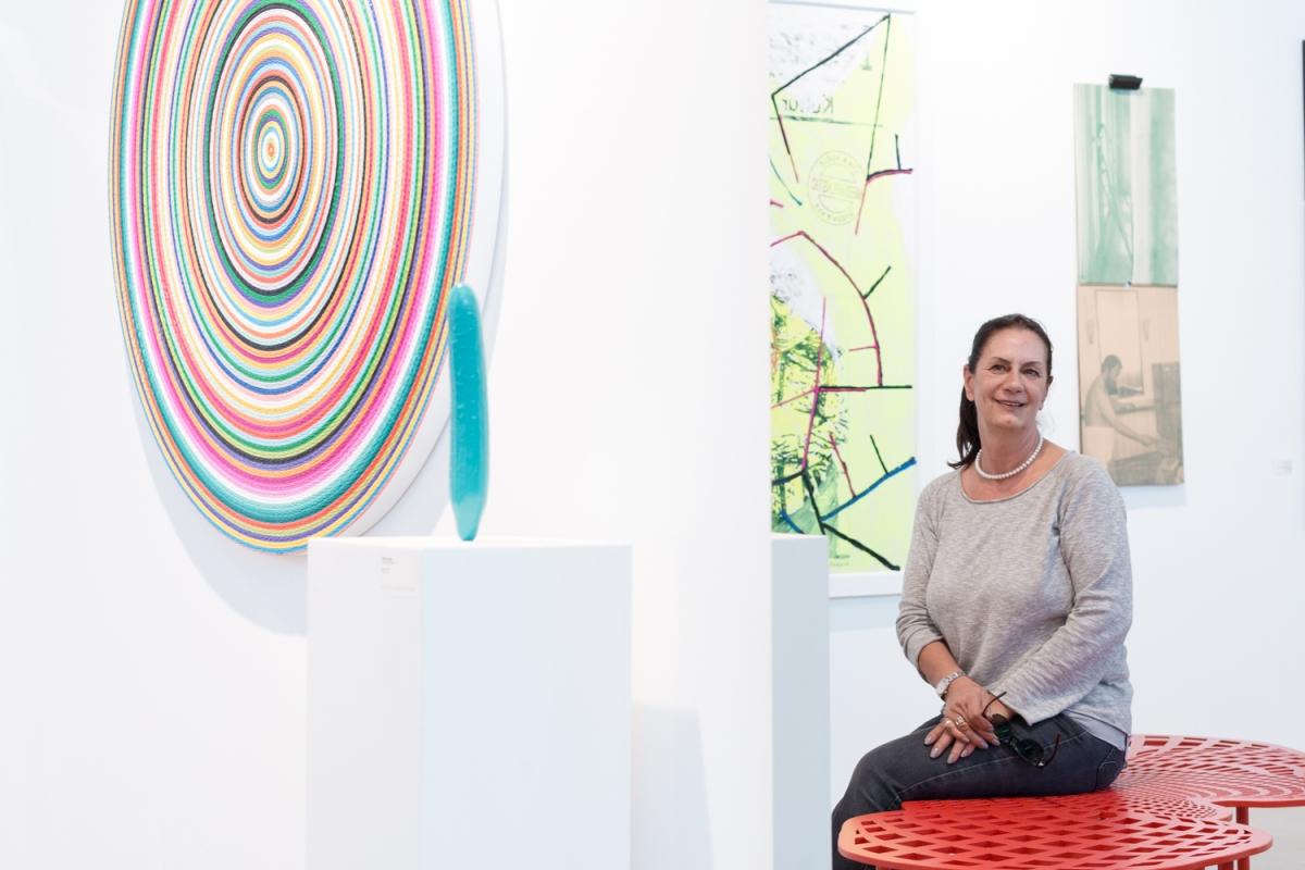 Petra Schlicher, Artelier Contemporary, Graz, photo: Kristina Kulakova