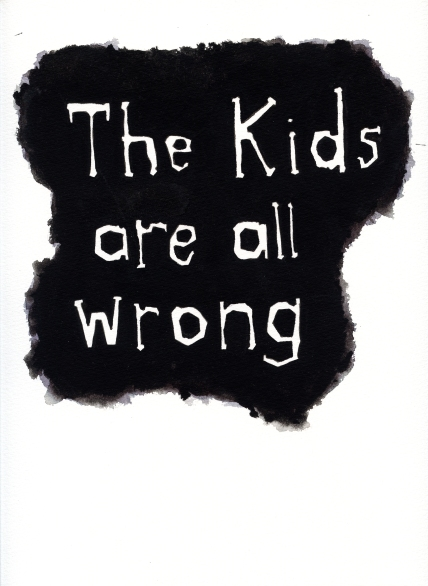 Michael Gumhold, Untitled (The kids are all wrong), 2008, courtesy of Georg Kargl Fine Arts