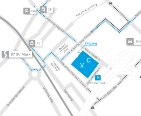 viennacontemporary 2016 | How to get to MarxHalle?