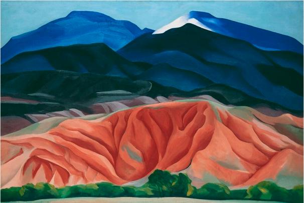 Georgia O'Keeffe, Black Mesa Landscape, New Mexico / Out Back of Marie's II, 1930, Georgia O'Keeffe Museum, Santa Fe © 2016 Georgia O'Keeffe Museum/Bildrecht, Wien