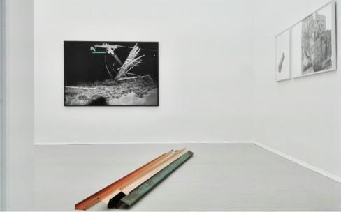 installation view NATALIA STACHON | Metal Time, 2017