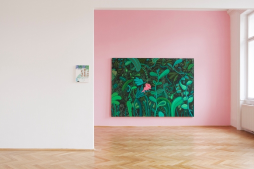 Installation view, Tropical Punch, CURATED BY KEEN ON MAGAZINE