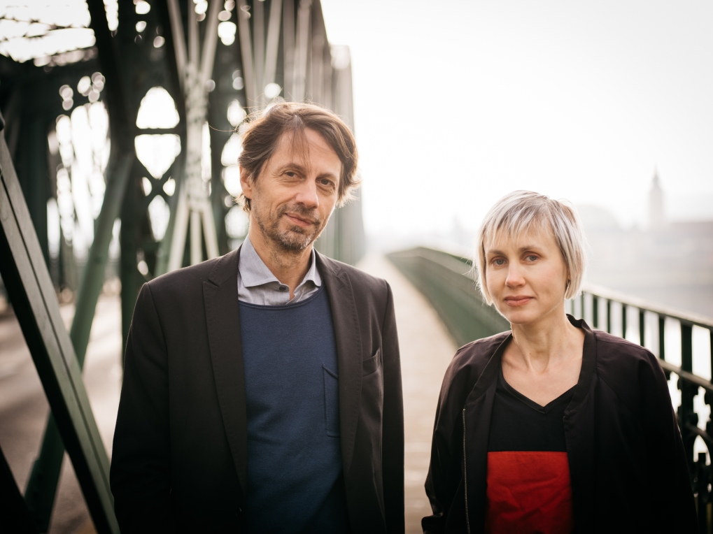 New curatorial team: Thomas Edlinger, Bettina Kogler. Image: Ingo Pertramer
