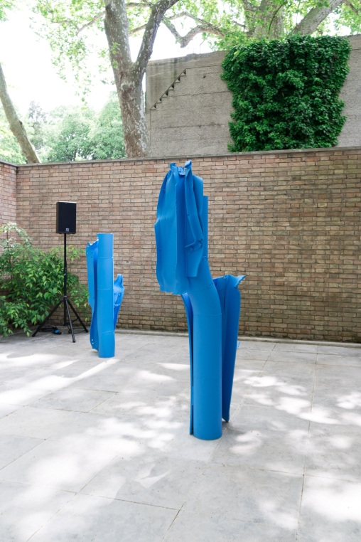 Carol Bove and Hubbard/ Birchler | Swiss Pavilion