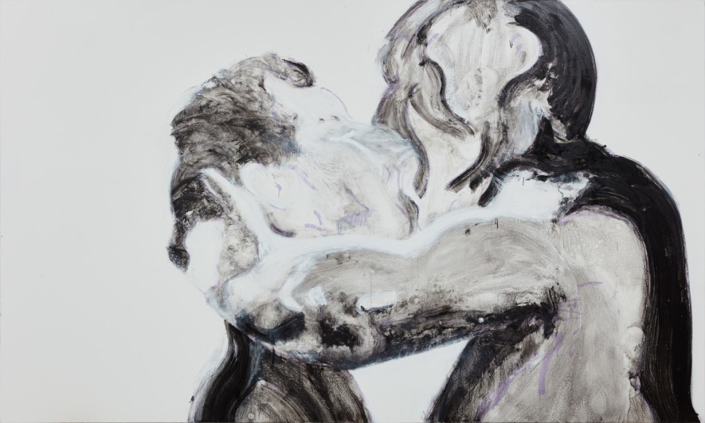 Nicole Wittenberg, Black and White Kiss, 2016