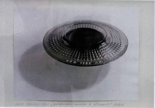 Archaeological Monument-Presence (U.F.O.) null Július Koller 1939-2007 Purchased 2007 http://www.tate.org.uk/art/work/T12432