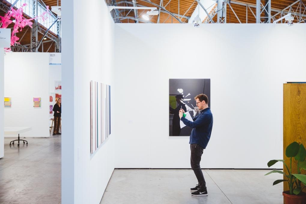 viennacontemporary 2017, Galerie Martin Janda, photo (c) viennacontemporary / Alexander Murashkin