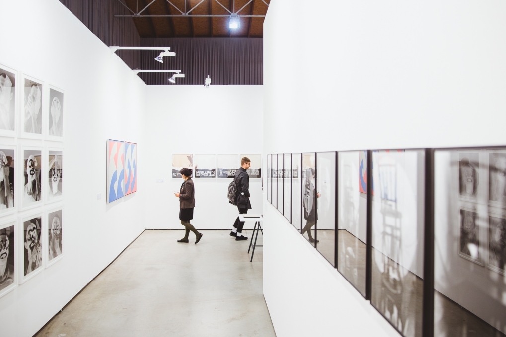 Focus: Hungary, exhibition view, photo (c) viennacontemporary / Alexander Murashkin