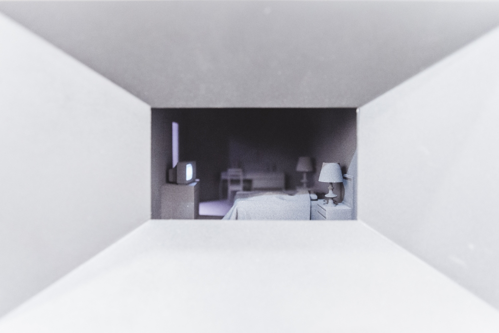 Hotel Room (light-box), 2012, light box, photo (c) viennacontemporary / Alexander Murashkin