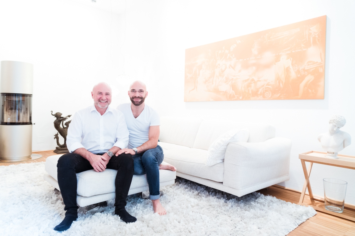 Ronald Harder & Michael Kaufmann  | art collectors