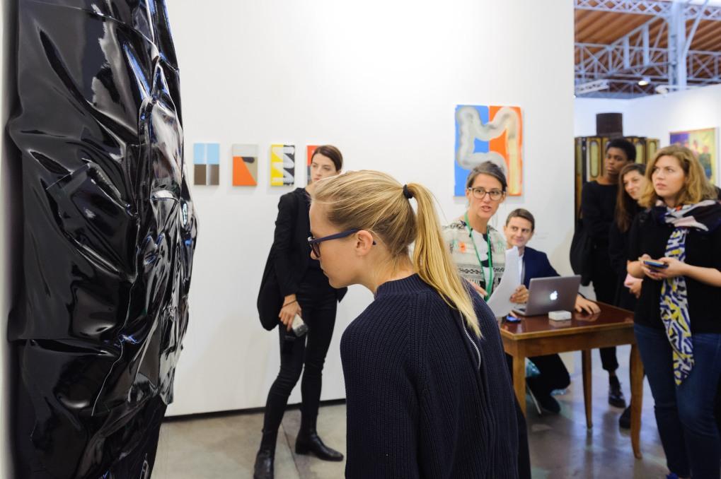 Curator's Agenda Guided Tour at Viv Vin, photo (c) viennacontemporary / Henk Jan Kamerbeek