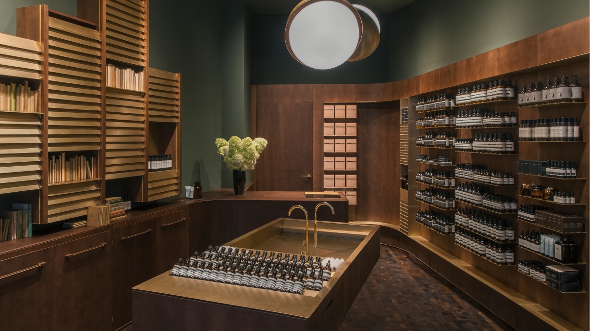 Aesop in Vienna | when beauty meets art