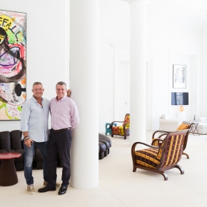 Adrian Riklin and Antonis Stachel | art collectors