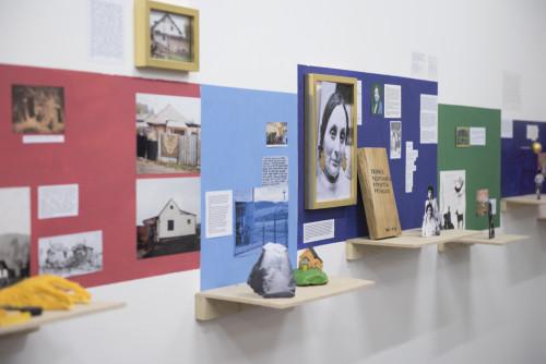 Oto Hudec, Nadikhuno muzeumos / Invisible Museum 2017, Mixed Media, variable dimensions, courtesy of tranzit.sk, Adam Šakový
