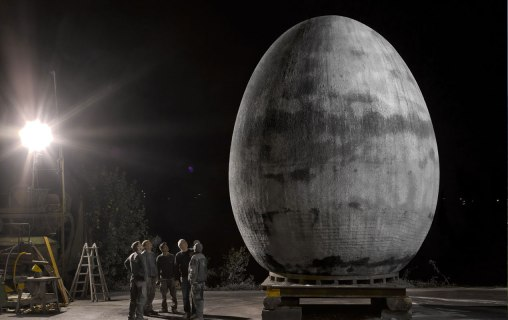 Concrete Egg, 2012, Oberhauser & Schedler Bau GmbH, Andelsbuch Tomaselli Gabriel Bau GmbH, Nenzing