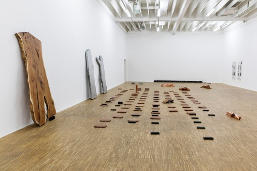 Exhibition view Lucy Skaer, Salzburger Kunstverein 2018, photo: Andrew Phelps, © Salzburger Kunstverein