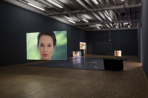 Exhibition view Katarina Zdjelar, Salzburger Kunstverein 2018, Photo: Andrew Phelps, © Salzburger Kunstverein
