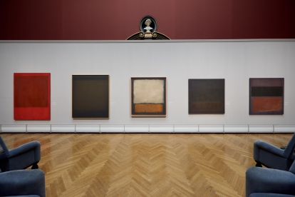 Exhibition view © 1998 Kate Rothko Prizel & Christopher Rothko/Bildrecht, Wien, 2019, Photo: KHM-Museumsverband