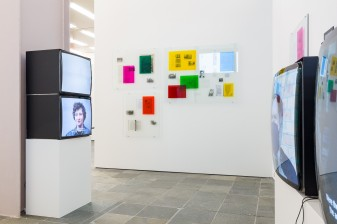 "Installation view ""On the New. Young Scenes in Vienna"" Photo: kunst-dokumentation.com © Belvedere, Vienna, 2019"