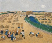 Broncia Koller-Pinell, The Harvest, 1908 © Belvedere, Vienna