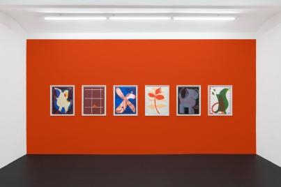 Ausstellungsansichten Meyer Kainer Galery Ulrike Mueller