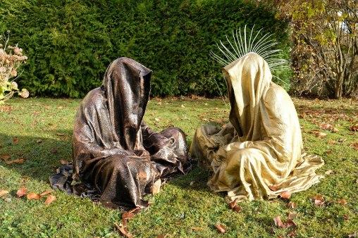 Guardians of time by Manfred Kielnhofer, sculpture park gallery museum
