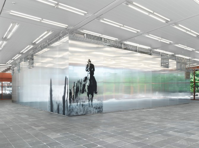 "Installation view ""Monica Bonvicini. I CANNOT HIDE MY ANGER"" Photo: Jens Ziehe, © Monica Bonvicini and Bildrecht Vienna"